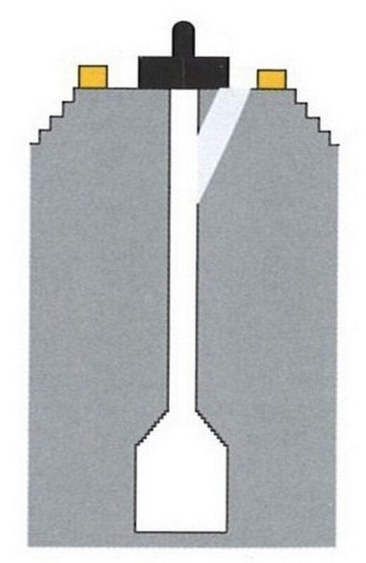 Схема расположения Лингама в храме Ак-Йом (VII в.).