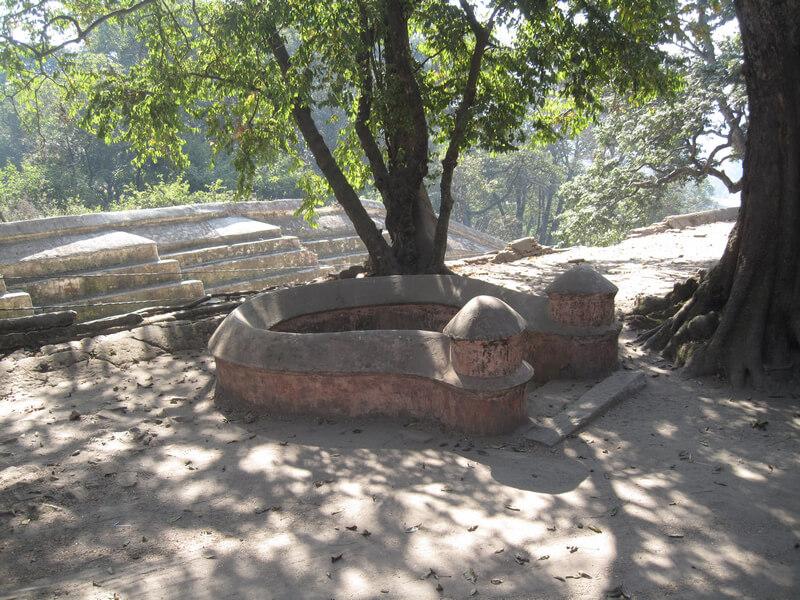 Рис. 2. Подковообразный алтарь йони (долина Пашупатинатх, Катманду, Непал).