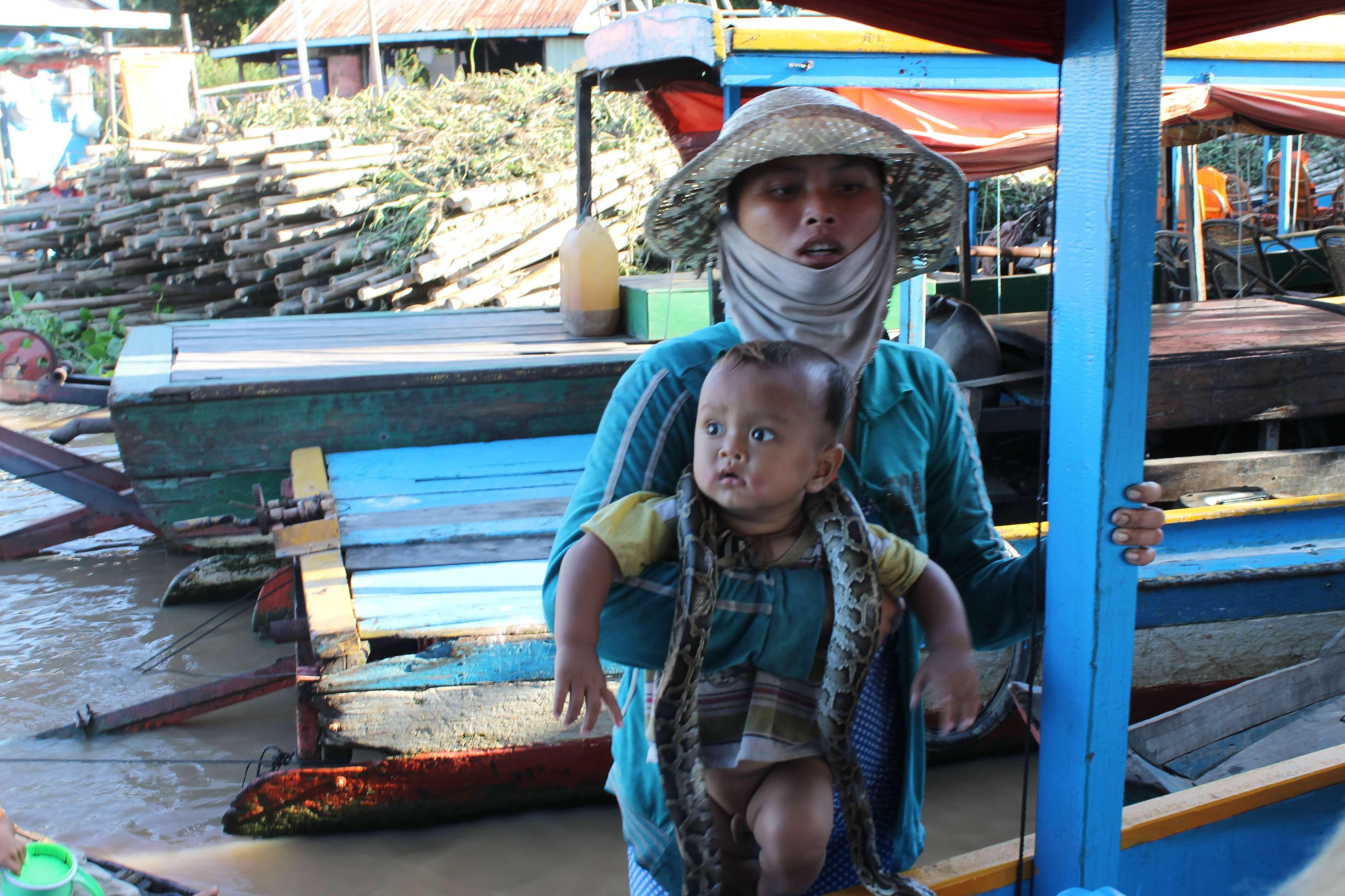 Озеро Топлесап Камбоджа