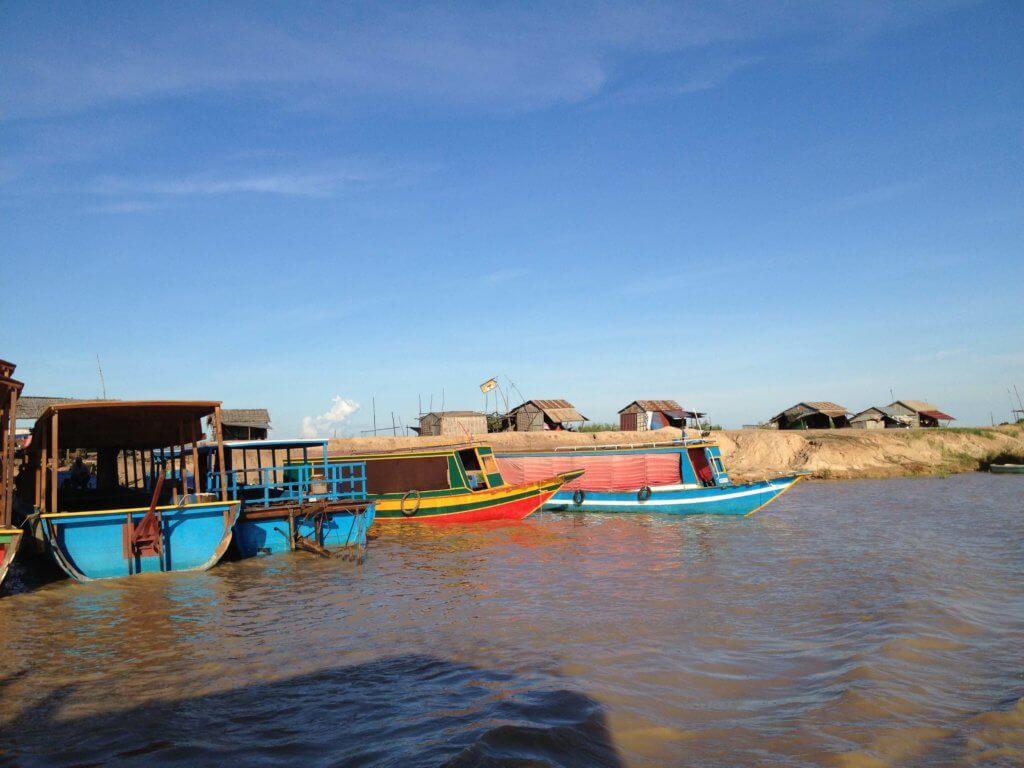 Наводнение в Камбодже